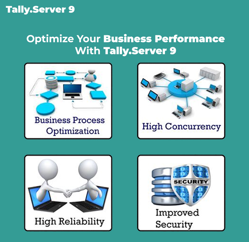 Tally Server 9 for Business Performance